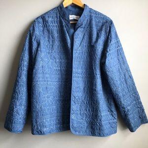 NWOT Alfred Dunner Patterned Jacket